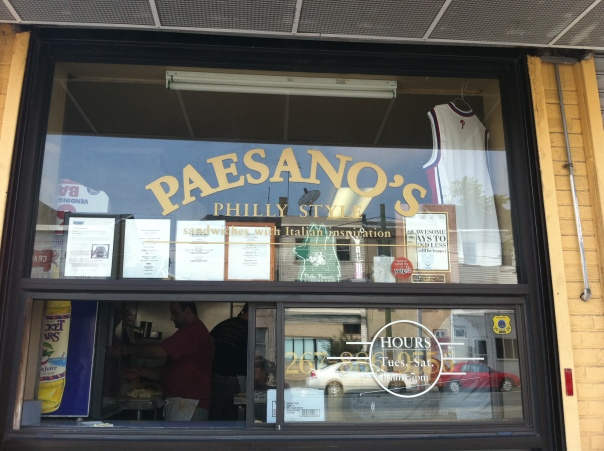 Paesano's Window