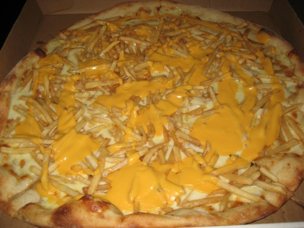 Cheese Fry Pizza