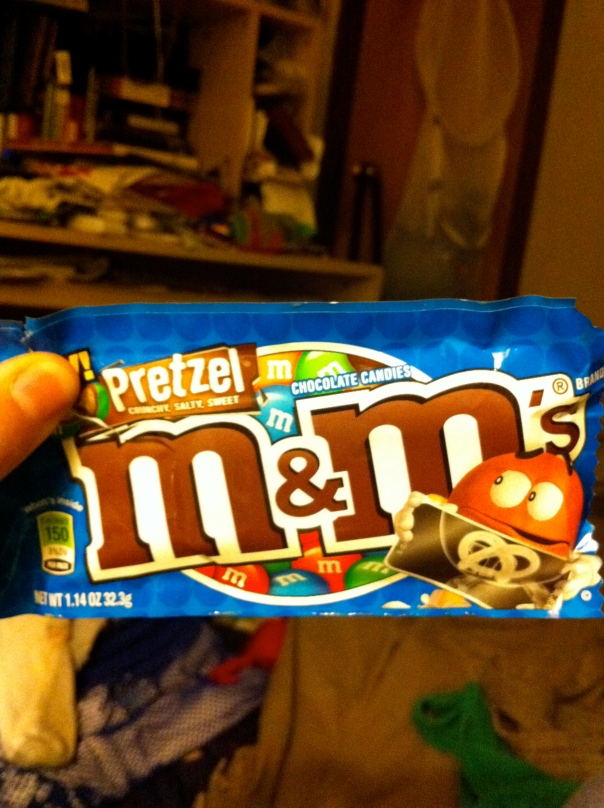 Pretzel M&M Bag