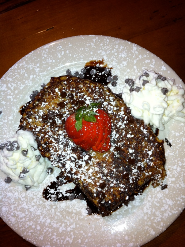 Ida Mae's Chocolate Babka French Toast
