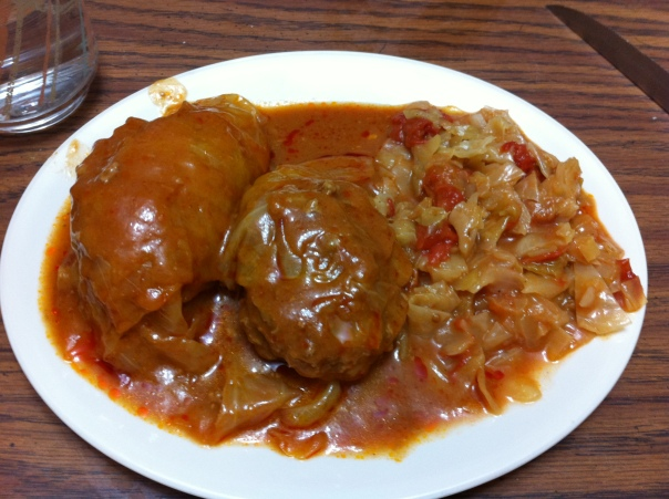 Goblacki & Stewed Cabbage