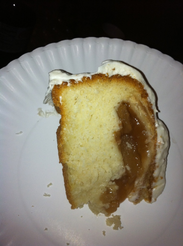 Piece Of Pie In A Cake!
