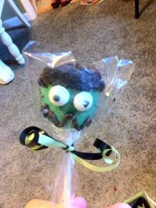 Frankenstein Cake Pop