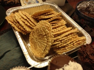 Homemade PIzzelles!