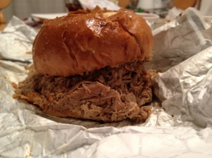 Carolina Pork Sandwich
