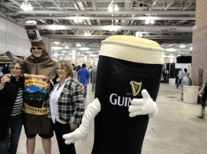 The Sierra Nevada Bottle and the Guinness Pint!