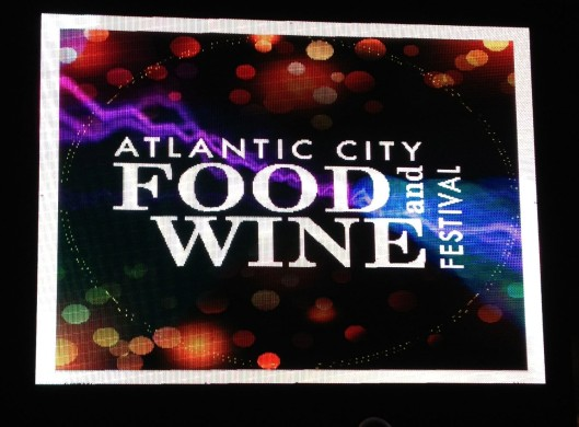 Welcome to the Atlantic City Food and Wine Fest!