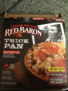 Red Baron Feast For One Meat Trio Pizza