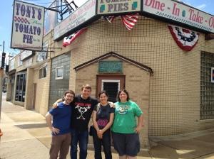 Brian, Joe, Emily and Me!
