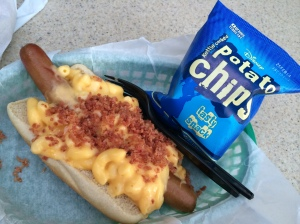 Disneyland Mac and Cheese Dog