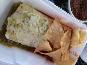 Machos Tacos Wet Machado Burrito